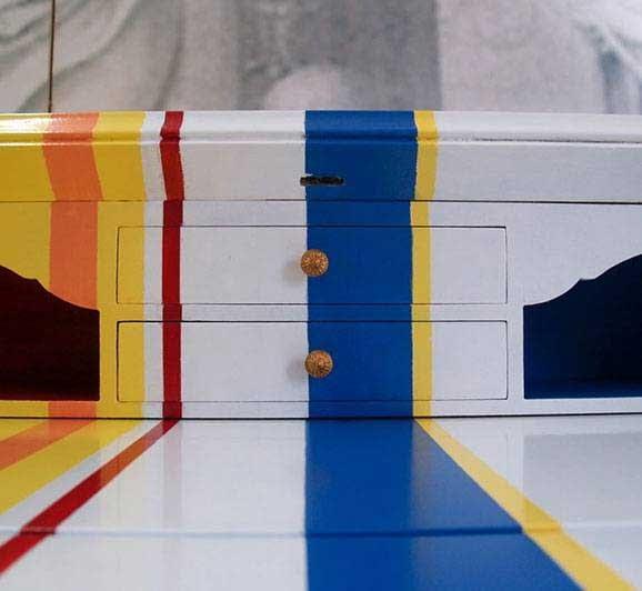 Decorazione mobile arredamento creativo a Torino